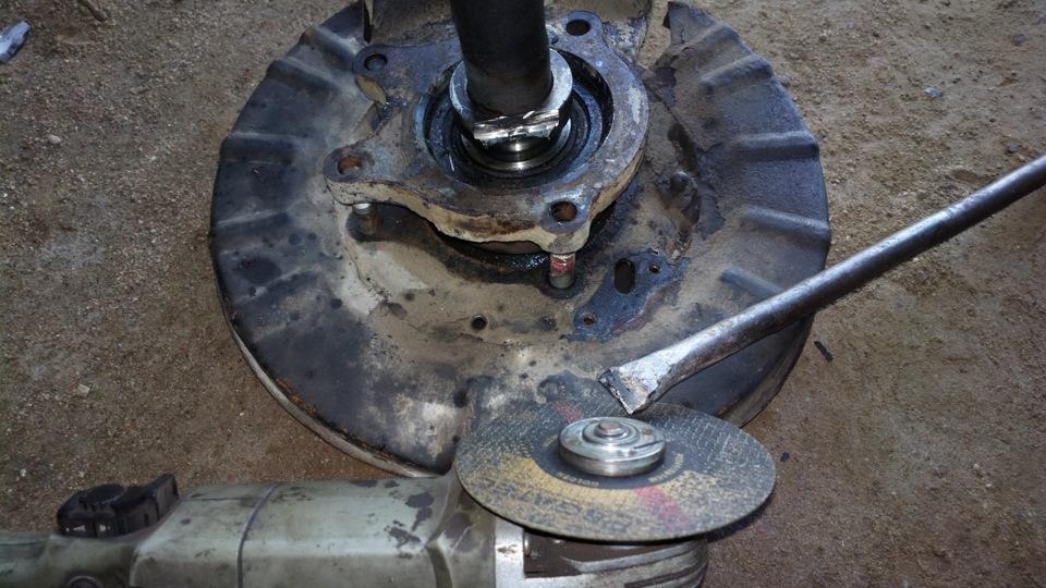 замена заднего ступичного подшипника опель фронтера