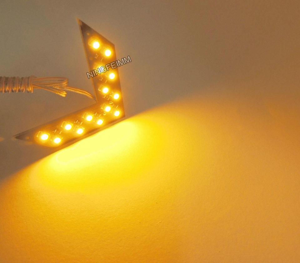 Поворот из светодиодов