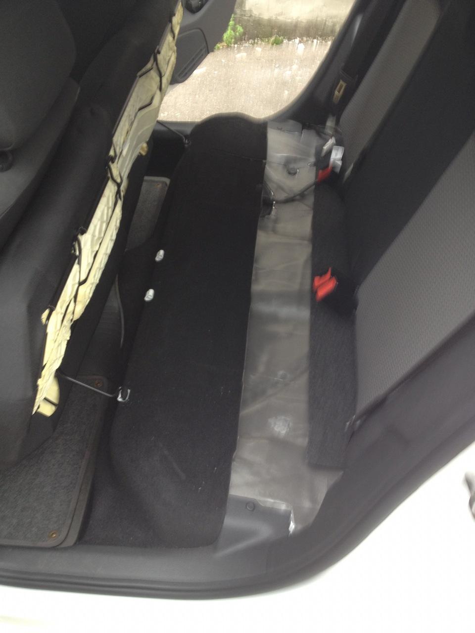 Шумка своими руками багажника