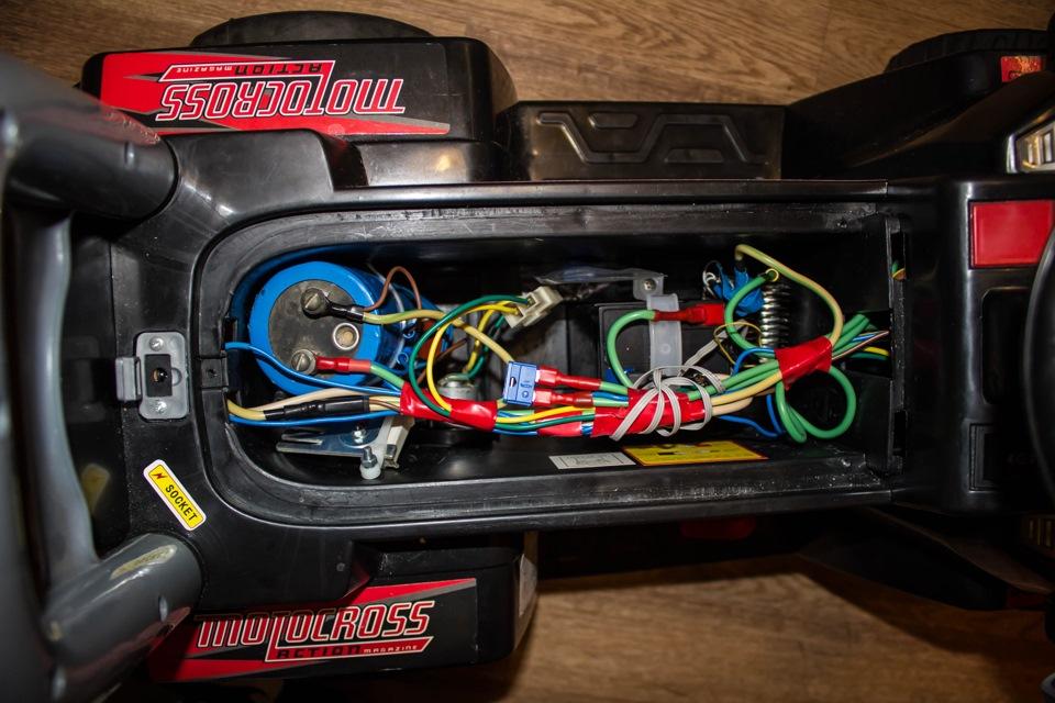 Ремонт детского электромотоцикла своими руками 73