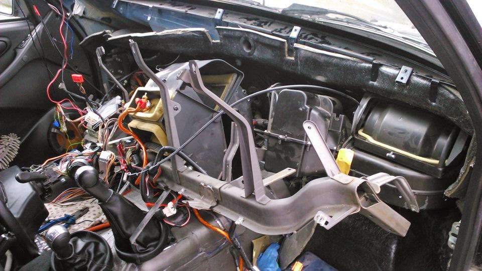 "Замена радиатора отопителя. - бортжурнал Chevrolet Niva ""Млечка"" 2012 года на DRIVE2"