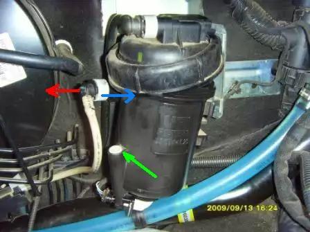 Фиат дукато 244 топливный фильтр