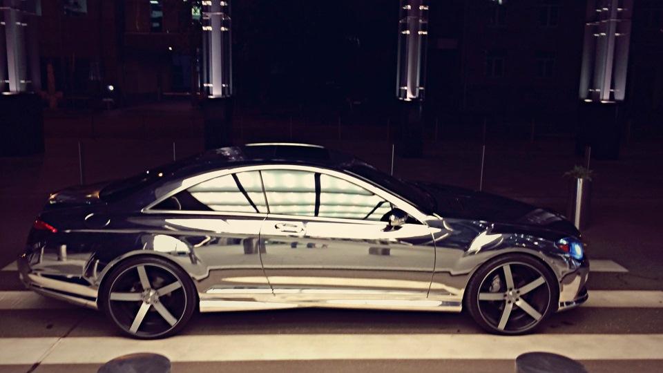 Mercedes-benz cl-class (c216) сейчас он хромированный)