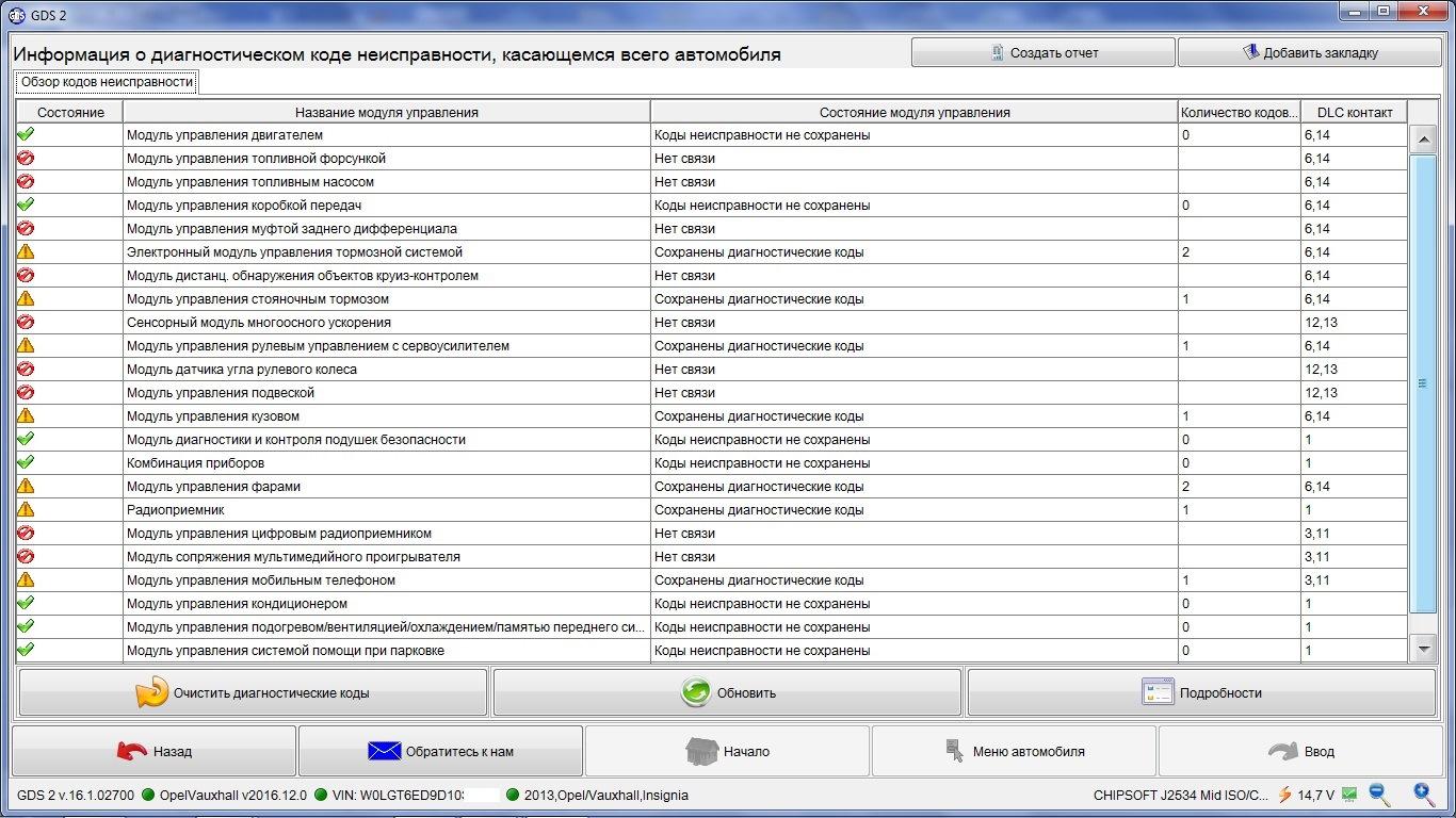 Дилерская диагностика GDS2 через J2534 адаптер — DRIVE2