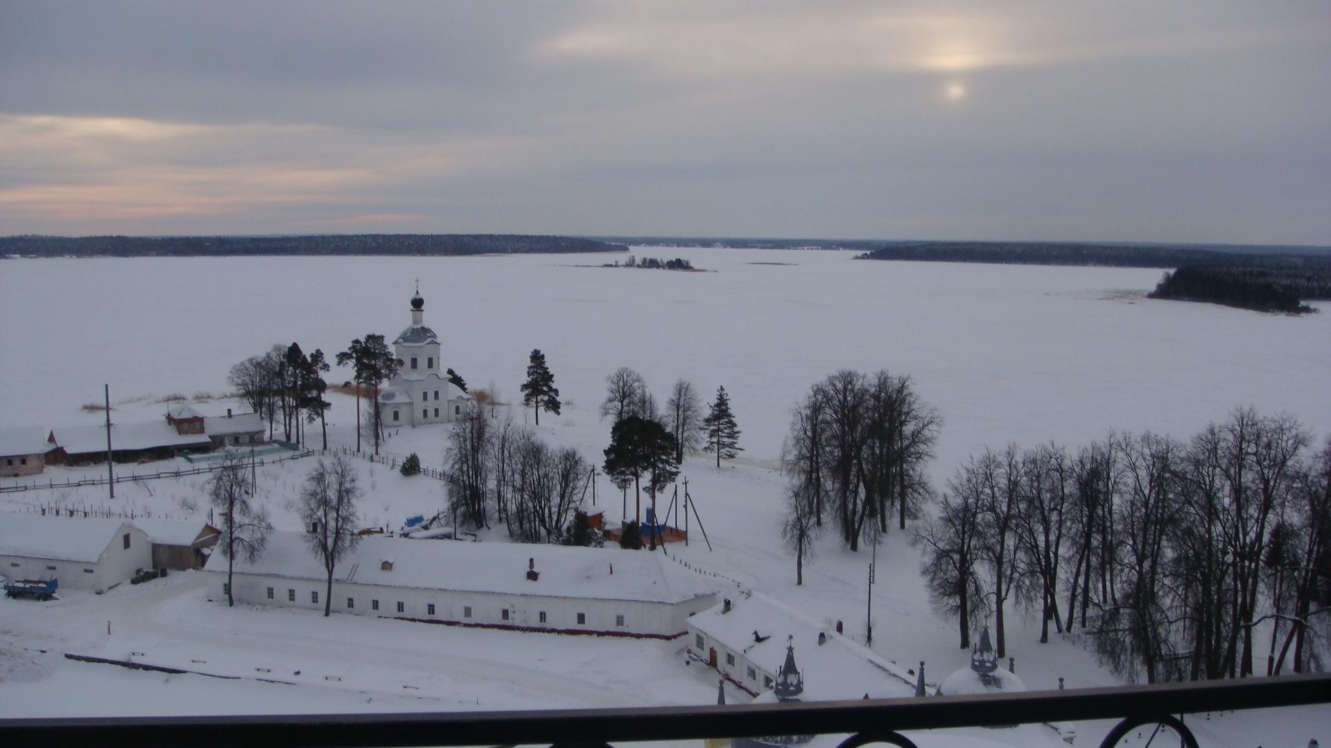 также, селигер зима фото избами