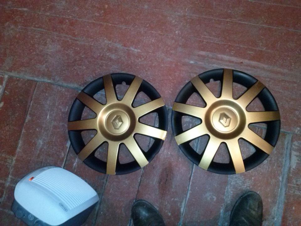 Как покрасить колесные колпаки своими руками 87
