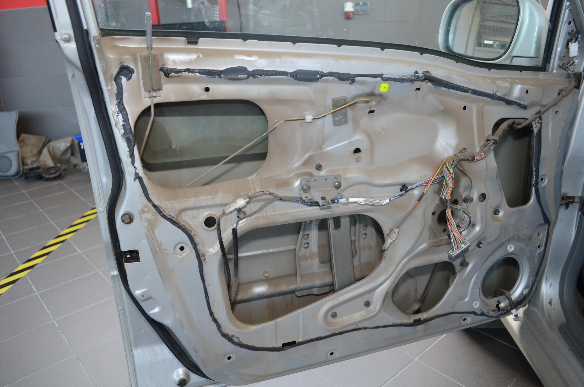 Шумоизоляция автомобиля в 2 слоя
