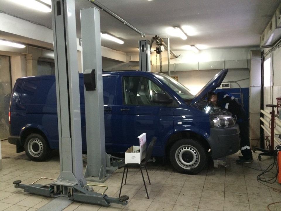 Фольксваген транспортер т5 моргает спираль на элеватор привезли в 1 день