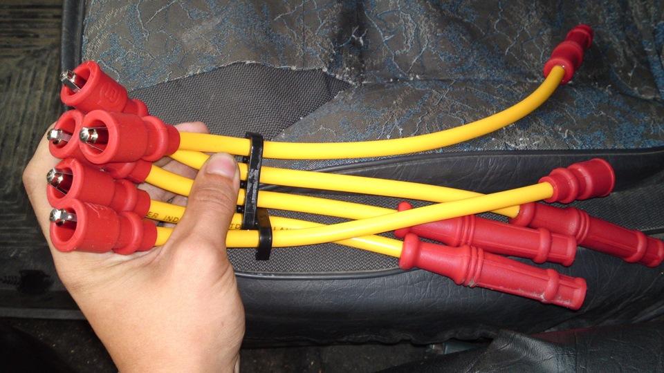 Сделать высоковольтные провода своими руками