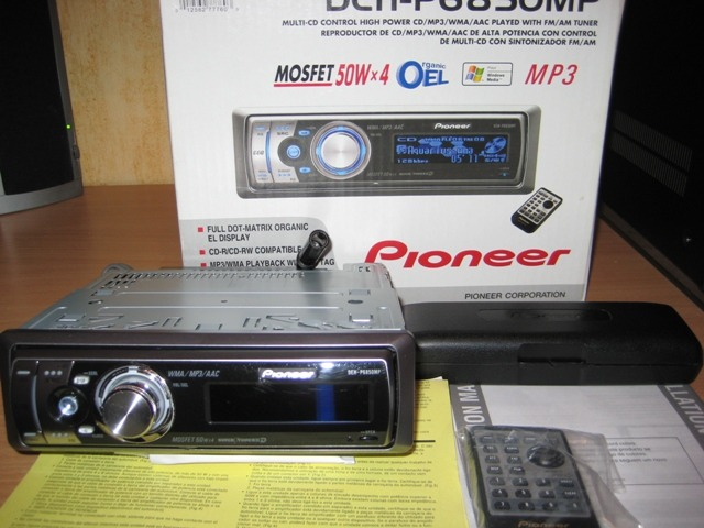 Deh p6850mp pioneer инструкция