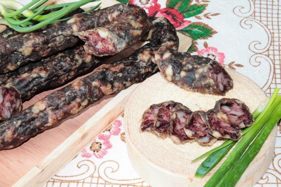 Блюда из вяленого мяса