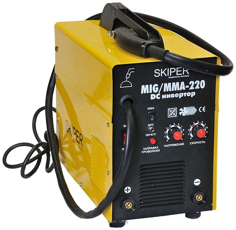 Аппарат сварочный полуавтомат 2 в одном бытовой стабилизатор напряжения 220 ресанта