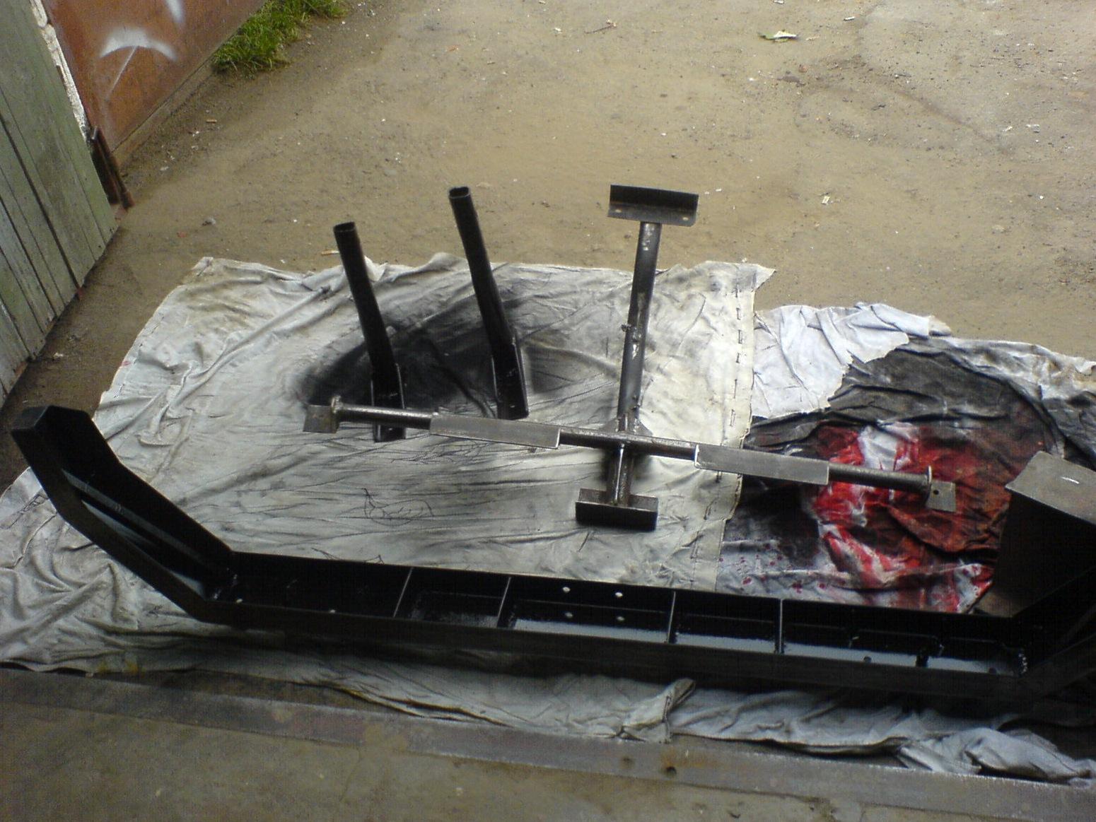 Изготовление силового бампера