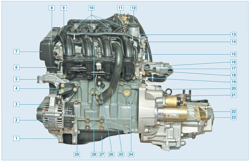 Прошивка 16 клапанного двигателя