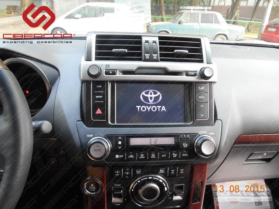 Головное устройство Toyota Prado 150 Touch&Go 2.