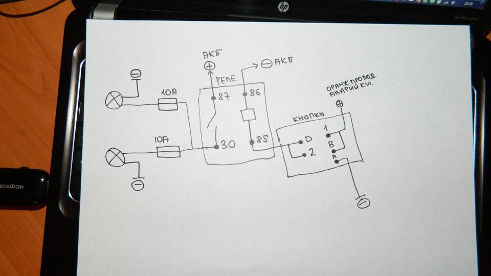 Схема подключения гранта птф