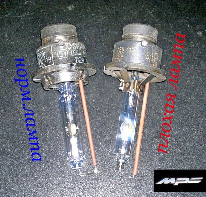 замена ксеноновых ламп на mazda 6