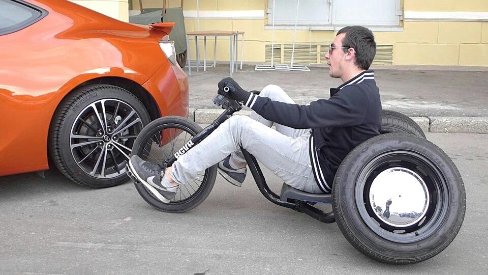 Как сделать 3 колёсный велосипед своими руками