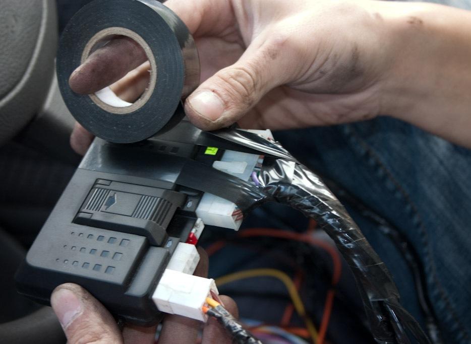 Фото №22 - установка сигнализации своими руками ВАЗ 2110