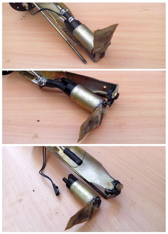 Замены топливного фильтра mitsubishi