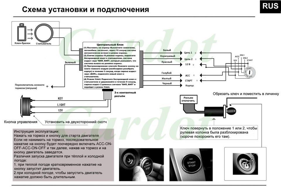 Фото №2 - инструкция по установке центрального замка на ВАЗ 2110