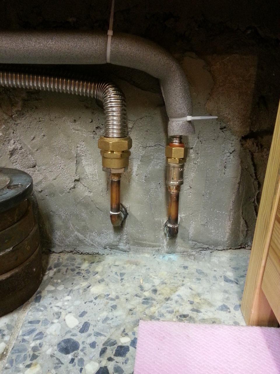 схема отопления гаража на тосоле