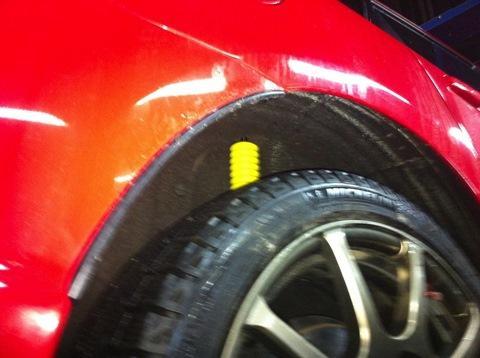 Mazda 3 MPS подвеска