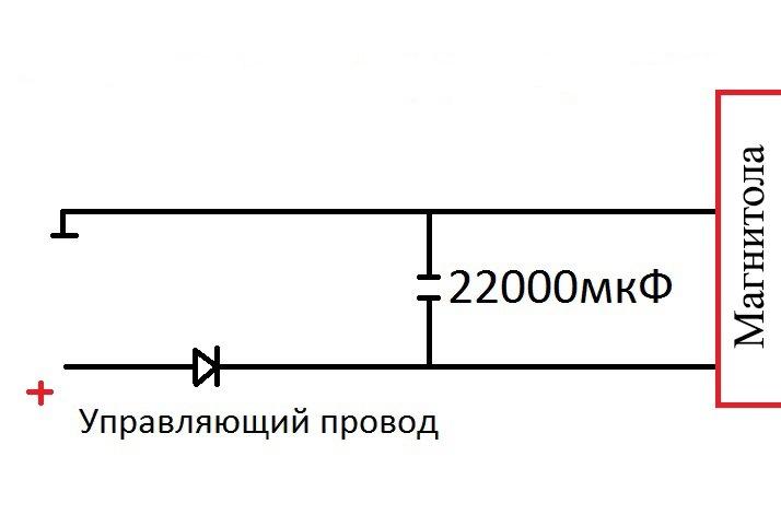 Нужного конденсатора на