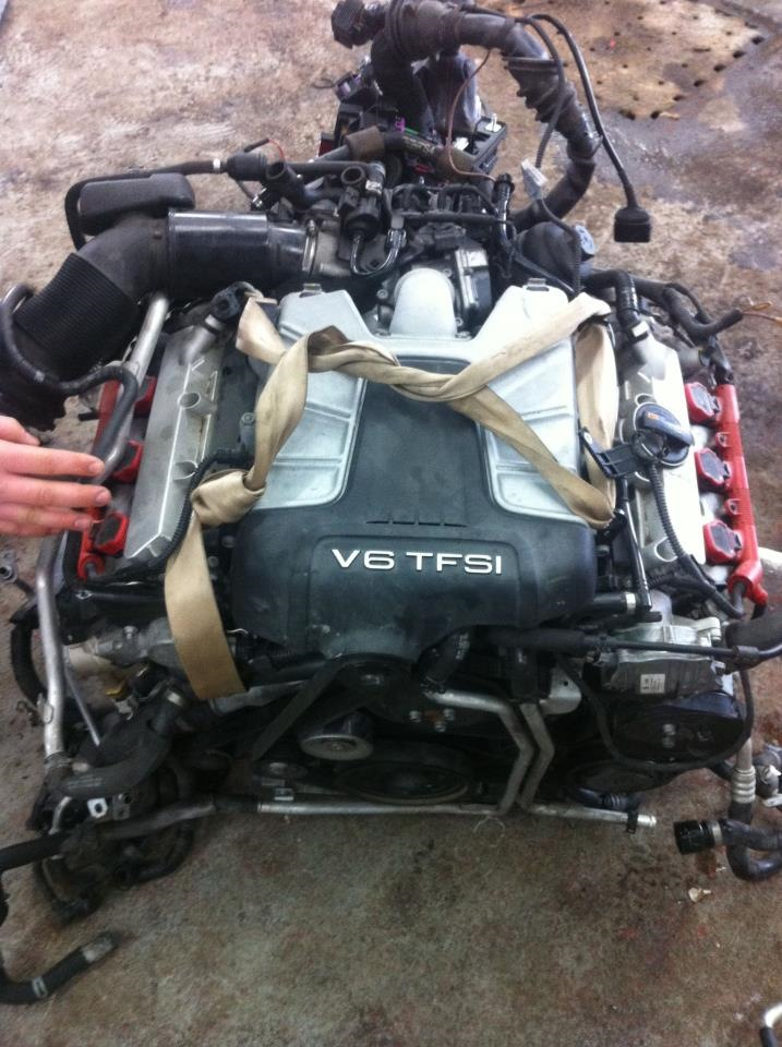 Audi A4 B6 Swap Engine 30 Tfsi S4 B8 Crazy Audi A4 20 л