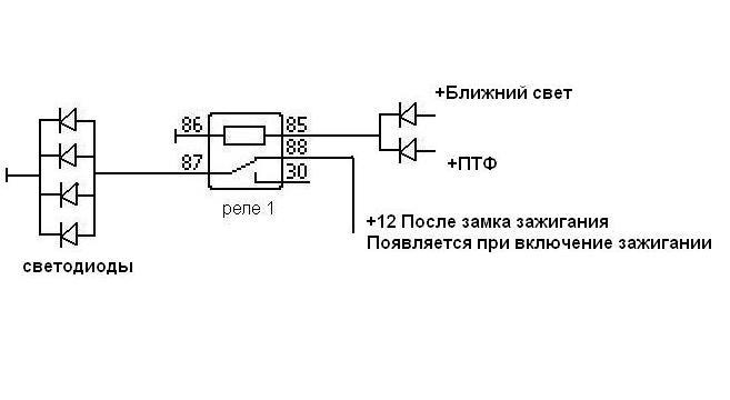 Обозначение перемычек на электрических схемах