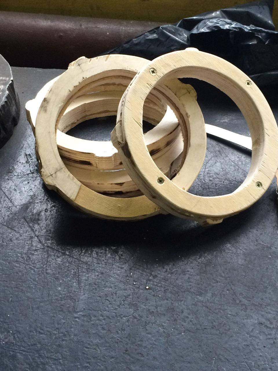 Проставочные кольца под динамики своими руками