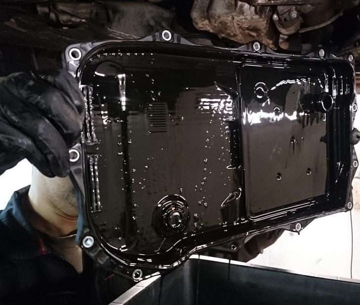 как менять масло в акпп BMW e60