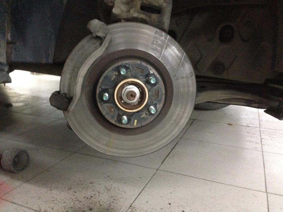 Замена тормозных дисков на киа соренто