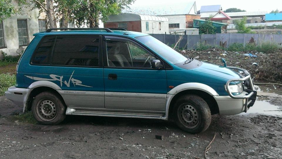 митсубиси рвр 1992г турбо дизель