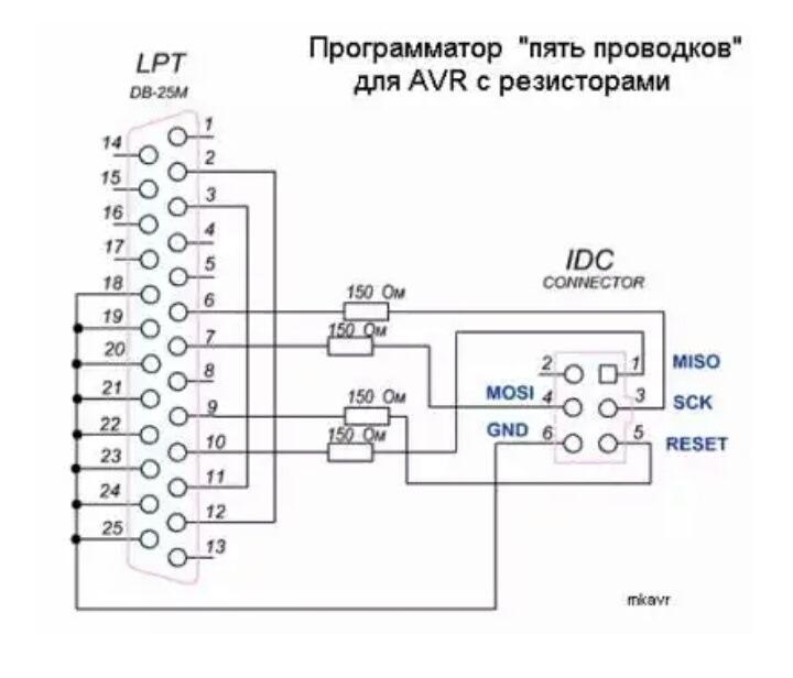 Программатор своими руками простой