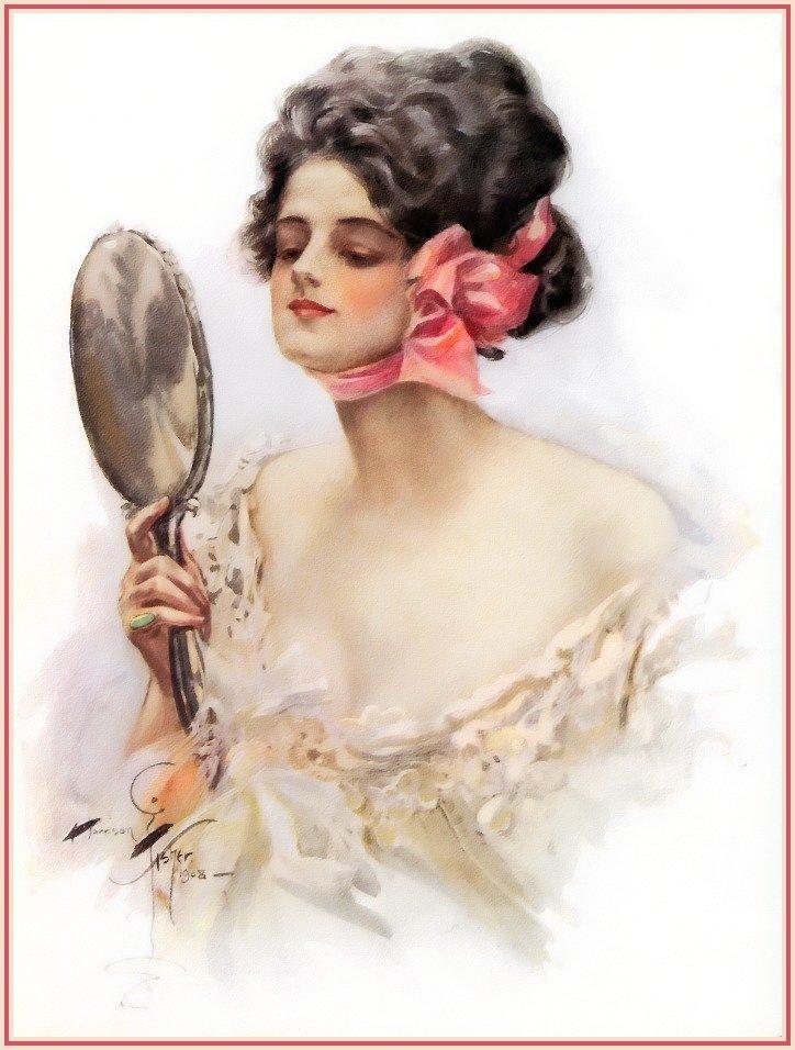 Девушка и перо открытка, своими руками бумаги