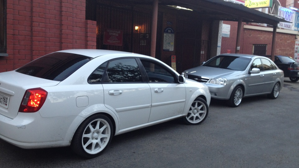 chevrolet lacetti тюнинг запчасти