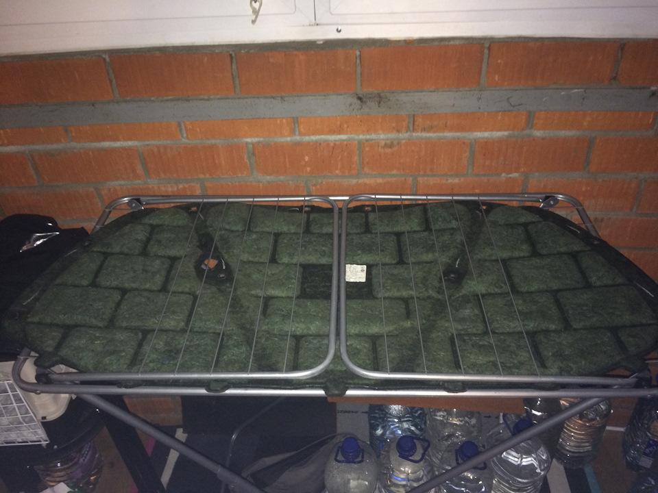 Шумоизоляция крыши на универсале