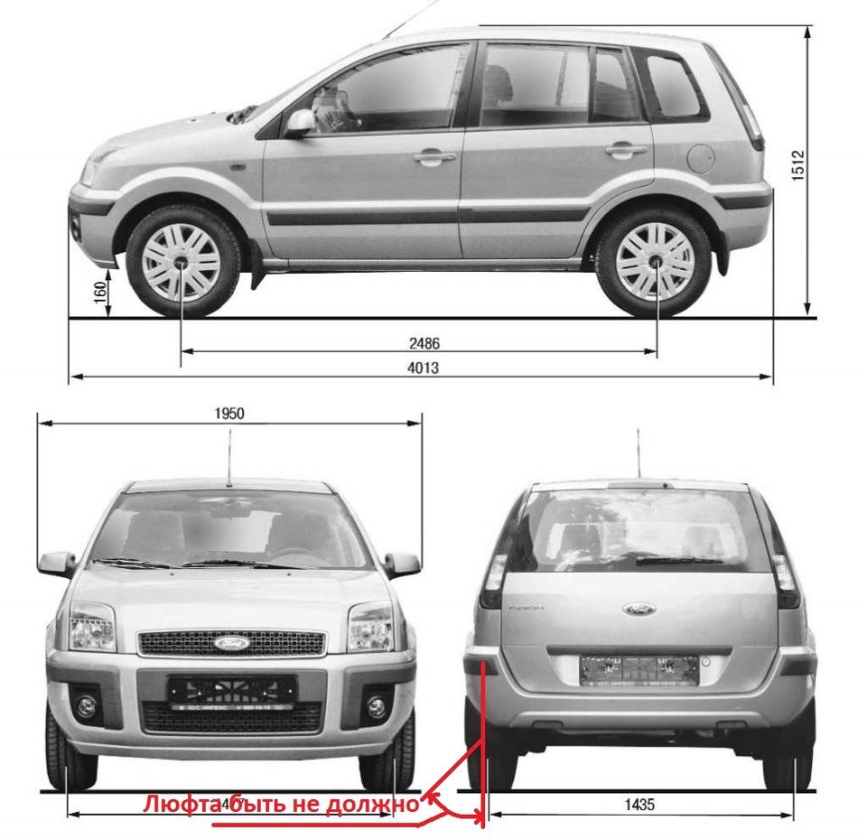 Форд фюжион технические характеристики
