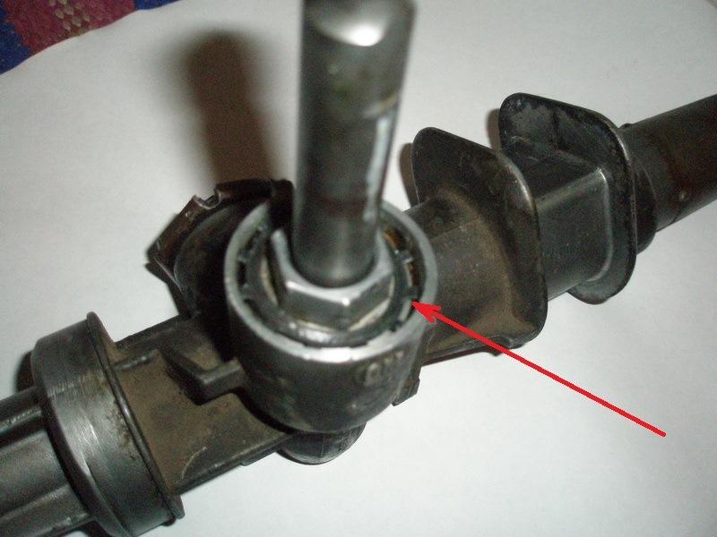 Ставить рулевую рейку на шевроле ланос