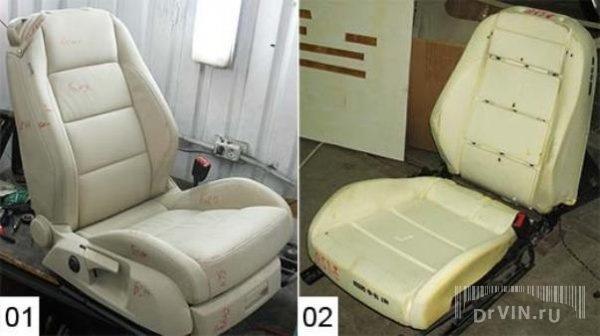 Автомобильные кресла ремонт своими руками
