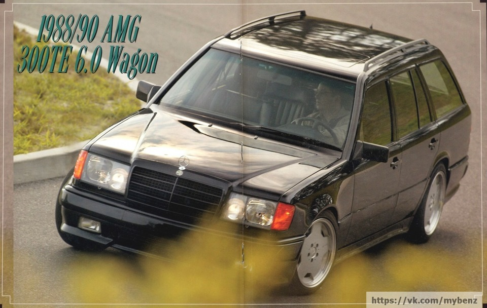 Amg w124 for 1988 mercedes benz 300te
