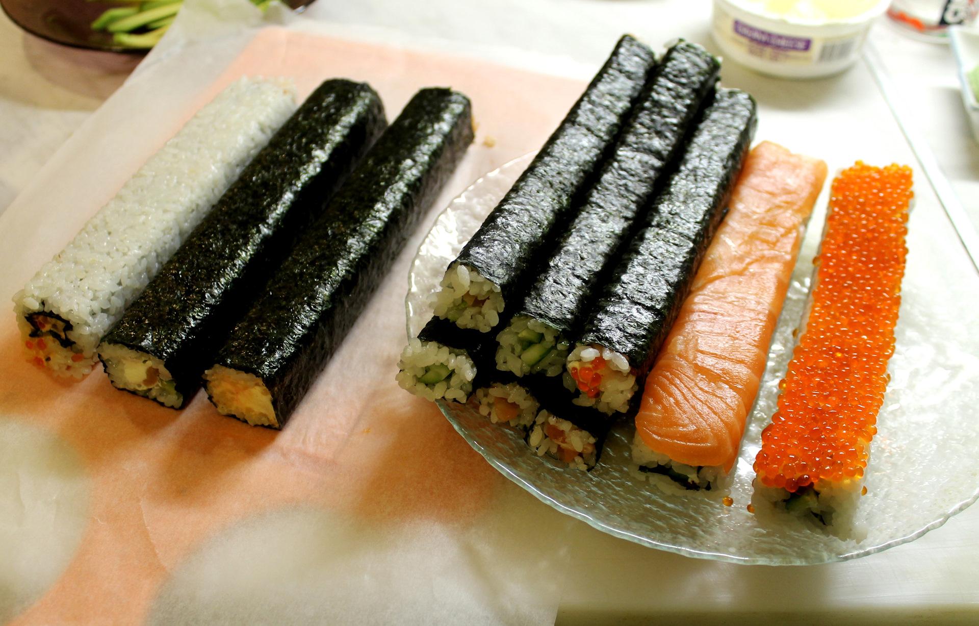 приготовить суши в домашних условиях в картинках
