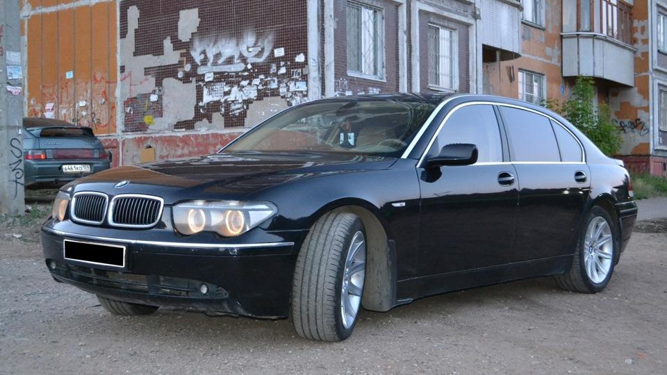 BMW Series BMW Li Лонг рестайл DRIVE - 745 bmw li
