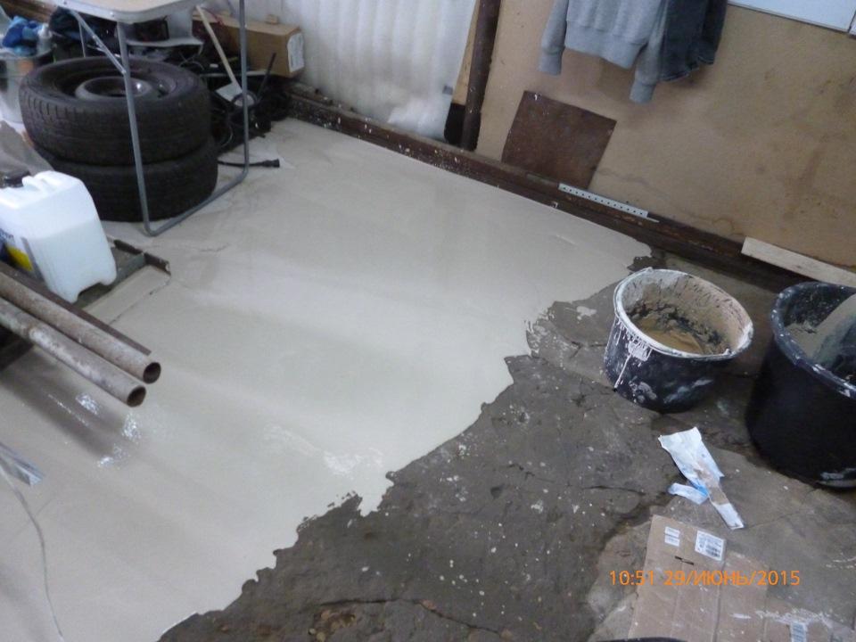 Как окрашивать бетонный пол, чтобы результаты оправдали надежды?