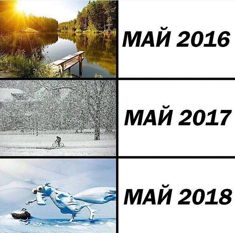 Картинки смешные про холод в мае