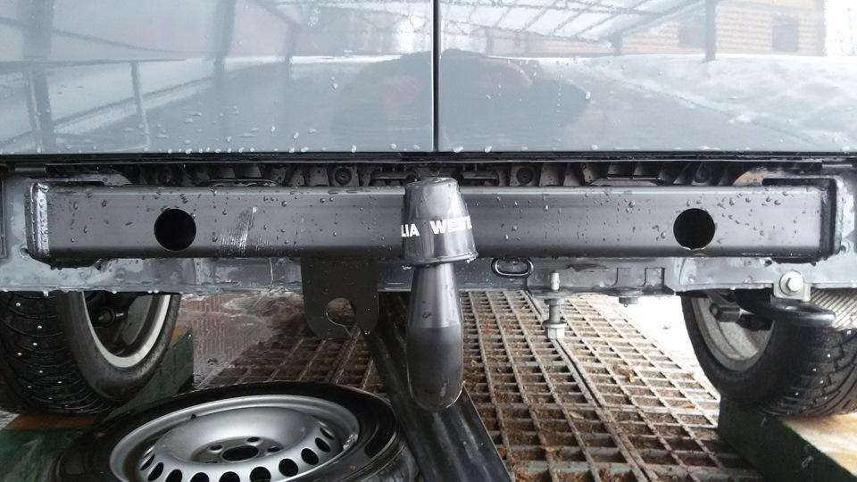 Как установить фаркоп на фольксваген транспортер транспортер 13 скребков