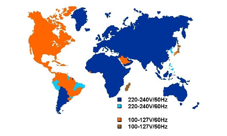Почему в америке 110 вольт а в россии 220