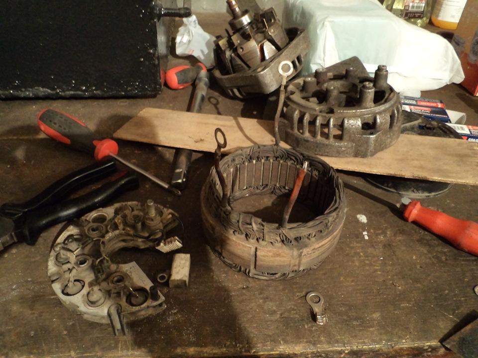 Ваз 2112 ремонт генератора