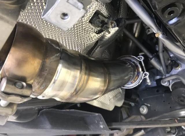 Downpipe Mercedes Benz C63s W205 — DRIVE2
